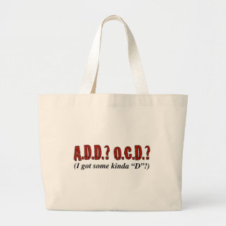 Disorder Party! Large Tote Bag