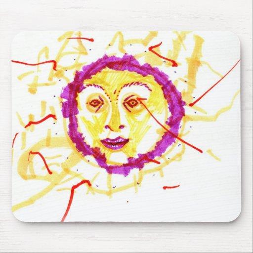 Disorganised Sun Mousepad