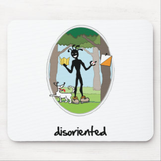"""""""Disoriented"""" Mouse Pad"""
