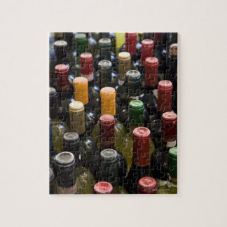 dispaly fo wine bottles in market, Campo di Jigsaw Puzzle
