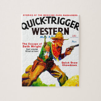 Disparador rápido occidental rompecabeza