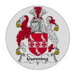 Disparar contra el escudo de la familia juego de fichas de póquer