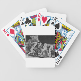 Disparate furioso by Francisco Goya Bicycle Playing Cards