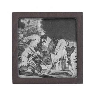 Disparate furioso by Francisco Goya Gift Box
