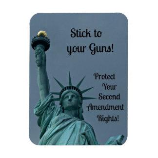 Dispare contra las derechas, palillo a sus armas… iman flexible