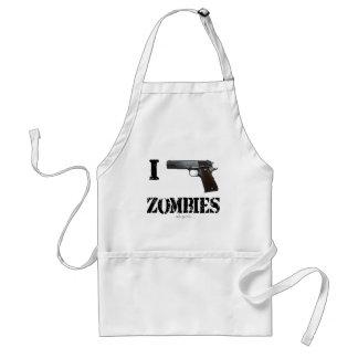 Disparo contra a los zombis 2 delantal