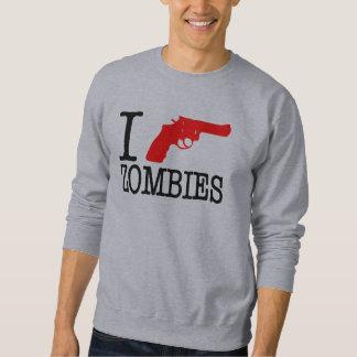 Disparo contra a zombis sudaderas encapuchadas