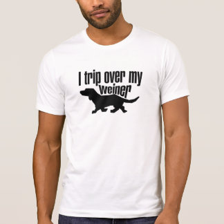 Disparo sobre mi perro de la salchicha de tshirt