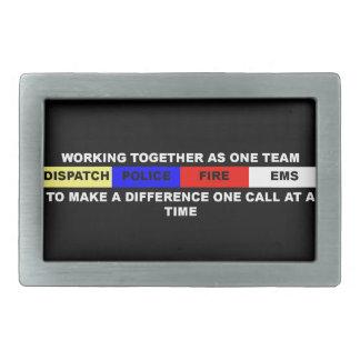 Dispatch, Police, Fire, EMS Belt Buckle