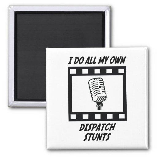 Dispatch Stunts 2 Inch Square Magnet