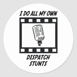 Dispatch Stunts Classic Round Sticker