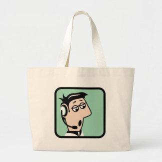 Dispatcher Large Tote Bag