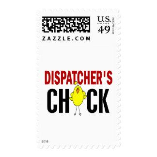 Dispatcher's Chick 1 Stamp