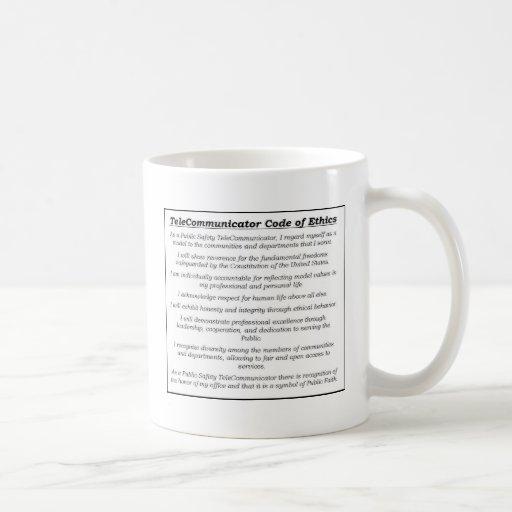 "Dispatcher ""TeleCommunicator Code of Ethics"" Mug"
