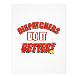 Dispatchers Job designs Personalized Letterhead