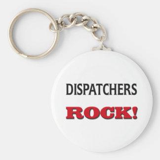 Dispatchers Rock Keychain