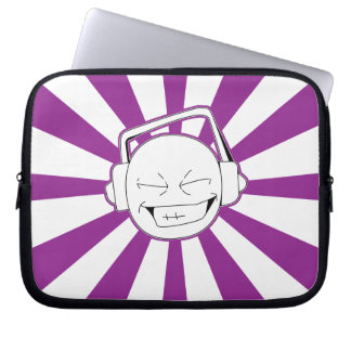 Disperse-L (Purple) Laptop Sleeve