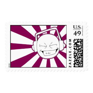 Disperse-L (Red-Violet) Stamp