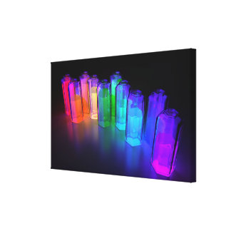 Dispersion Canvas Print