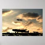 Dispersión de la oscuridad de los bombarderos de H Posters