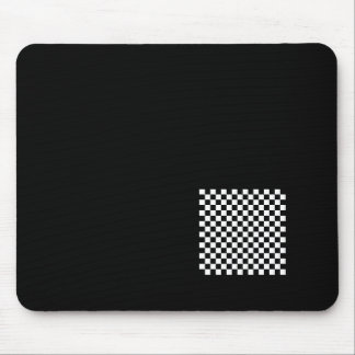 Displaced Checker Mousepad
