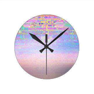 Displaced Round Clock