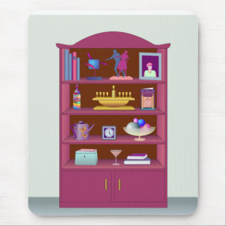 Display Cabinet Mouse Pad