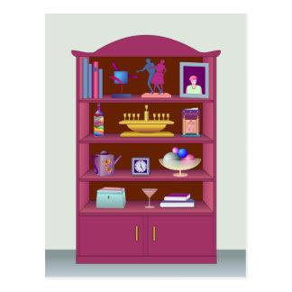 Display Cabinet Postcard