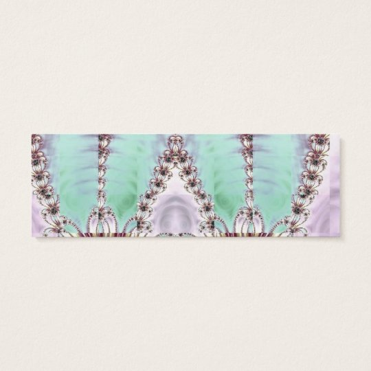 Display of Beauty Bookmark Mini Business Card