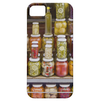 Display of pickled fruits and vegetables. iPhone SE/5/5s case