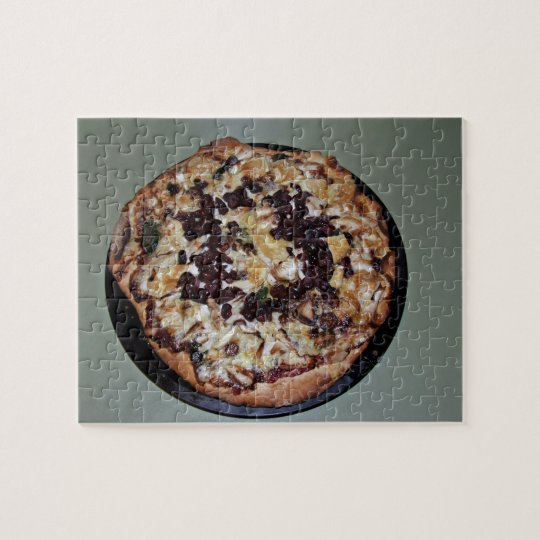 Display of Pizza Jigsaw Puzzle