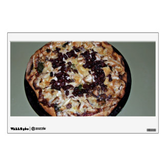 Display of Pizza Room Sticker