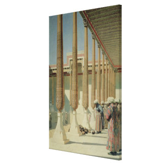 Display of Trophies, 1871-72 Canvas Print
