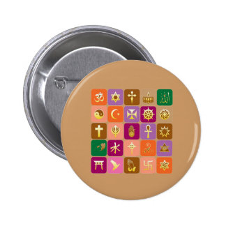 DISPLAY only Decorative Religious ICONS Buttons