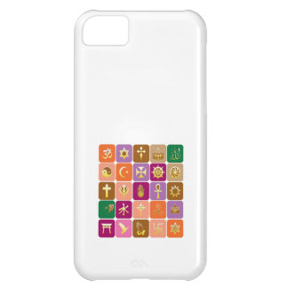 DISPLAY only Decorative Religious ICONS iPhone 5C Cases