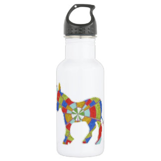 DISPLAY VOTE SUPPORT ELECT ENJOY STAINLESS STEEL WATER BOTTLE