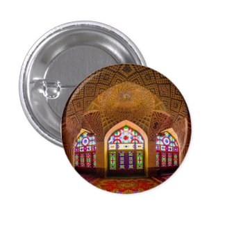 DISPLAY with respect: Religious Place of Worship 1 Inch Round Button