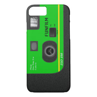 Disposable Camera - I6 Green iPhone 8/7 Case