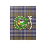 Disposable Placemats O'Sullivan Plaid & Badge Notepad