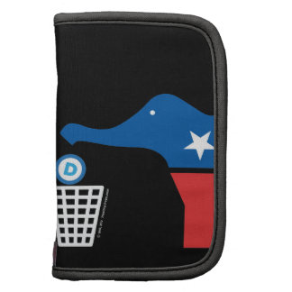 Dispose of Socialism Properly - w/GOP icon Folio Planner