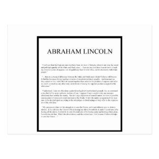 Disposición alterna honesta de Abe Postales