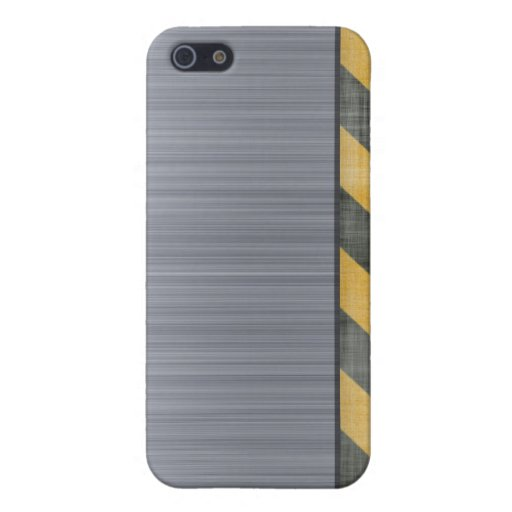 Disposición cepillada de la construcción del pelig iPhone 5 protectores