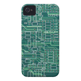 Disposición de circuito eléctrico funda para iPhone 4 de Case-Mate