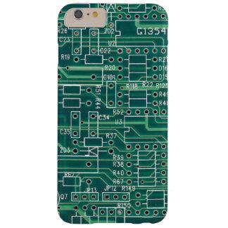 Disposición de circuito eléctrico funda para iPhone 6 plus barely there