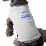 disposición de la basura camisas de mascota