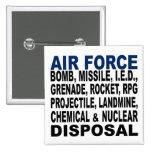 Disposición de la bomba etc. de la fuerza aérea pin