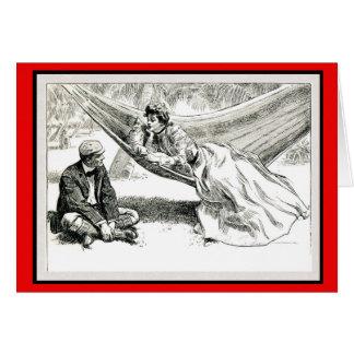 """Disposition"" Charles Dana Gibson Valentine Card"