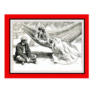 """Disposition"" Charles Dana Gibson Valentine Postcard"