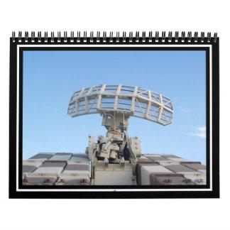 Dispositivo anti del radar de seguimiento de los a calendario de pared