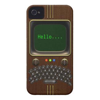 Dispositivo de comunicación portátil del vintage Case-Mate iPhone 4 carcasas